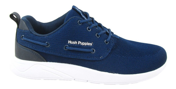 Zapatillas Hush Puppies Club Mesh Tejido Acordonadas