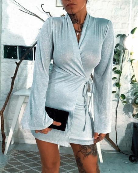 Vestido Corto Elegante O Casual Fiesta Dama Mujer Art 6789
