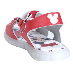 Papete Infantil Disney Mickey Led - Vermelho Tamanho 27