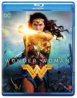 La Mujer Maravilla Wonder Woman Blu Ray Original