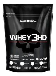 Whey 3hd 837g Refil - Isolado Conc Hidro - Black Skull