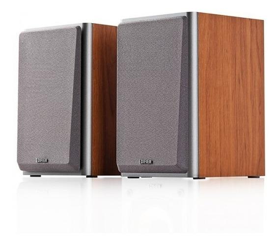 Monitor De Áudio 24w Rms R1000t4 Edifier 2.0 Bivolt - Madeir