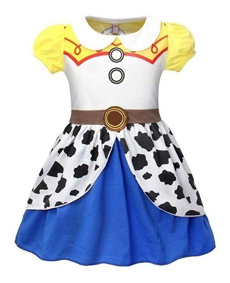 Disfraz Jessi De Toys Story Halloween Fiesta Vestido 2 Años