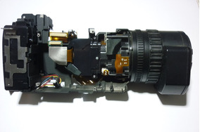 Jogo Ótico Bloco Ótico De Câmera Sony Dsr-pd170 Usada