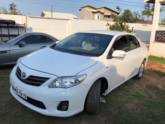 Toyota Corolla 2.0 16v Xei Flex Aut. 4p Sinistro