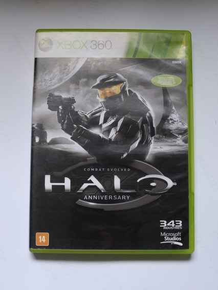 Halo Combat Evolved Anniversary Xbox 360 Original