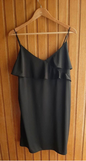 Vestido H&m Negro Talle L Nuevo