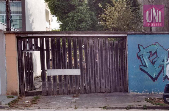 Terreno Residencial À Venda, Parque Das Nações, Santo André. - Te0124