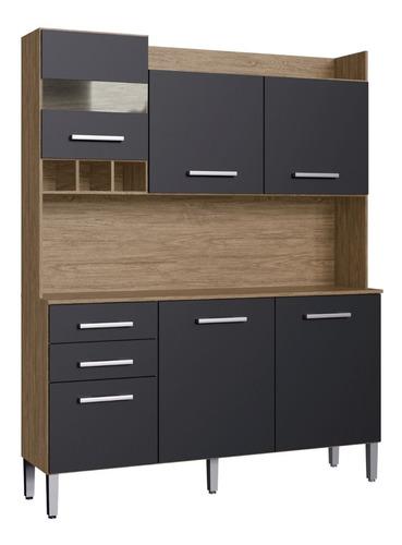 Imagen 1 de 8 de Mueble De Cocina Kit Completo 6 Puertas Cajones Amoblamiento