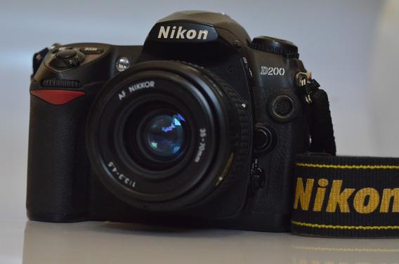 Nikon D200 + Lente 35-70 Nikkor