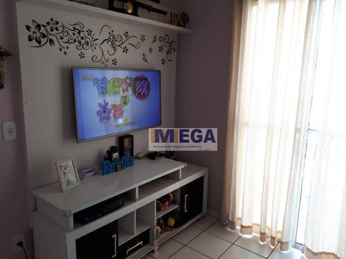 Imagem 1 de 23 de Apartamento Com 2 Dormitórios À Venda, 43 M² Por R$ 181.000,00 - Jardim Carlos Lourenço - Campinas/sp - Ap5047