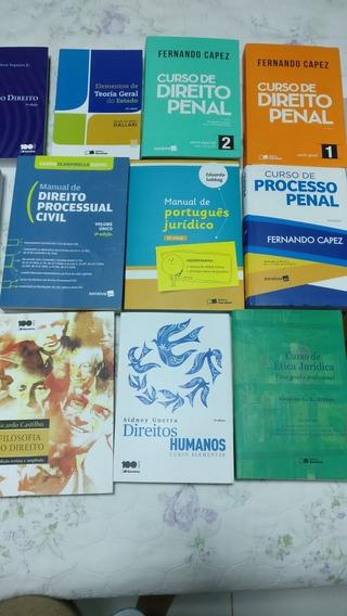 Coleção De 21 Livros De Direito (ótimo Estado)