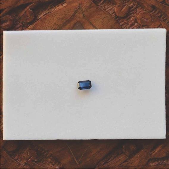 Safira 0,7ct 5,7x3,8x2,1mm Pedra Precisa Para Anel