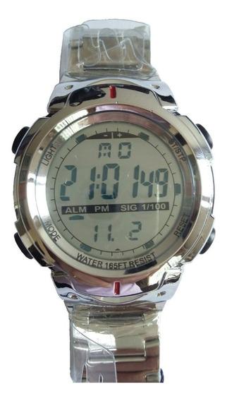 Relógio Atlantis Masculino Digital - Elegante A Prova D Água