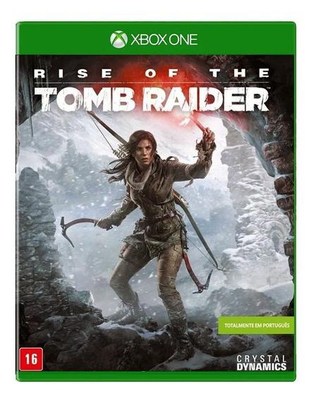 Rise Of The Tomb Raider Xbox One Midia Fisica