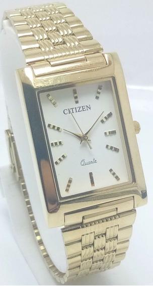 Relógio De Pulso Raro Vintage Citizen Quartz Para Homens