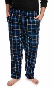 Pantalón Pijama Fruit Of The Loom Azul Negro Hombre A3