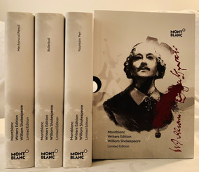 Montblanc Writers Edition William Shakespeare