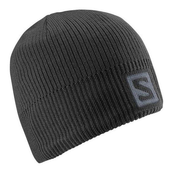 Gorro Salomon Logo Beani Negro -abrigo - (366850)