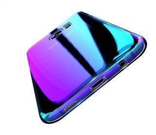 Funda Floveme Blue Ray Espejada Slim Samsung J7 Pro 2017