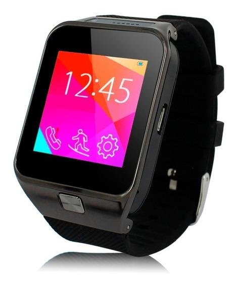 Relógio Smartwatch Celular Bluetooth Android Ios + Película