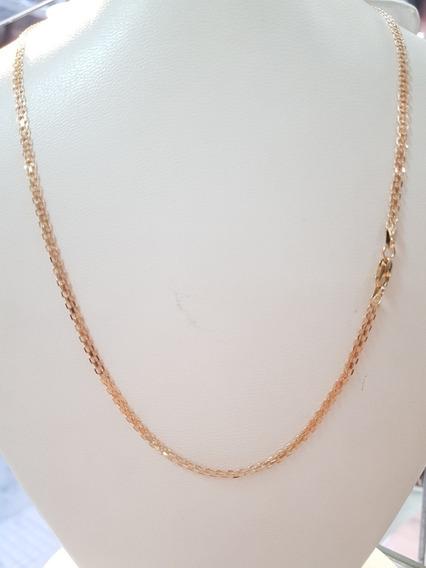 Cadena Oro Rojo 18k 5,1grs 43cm Brumat