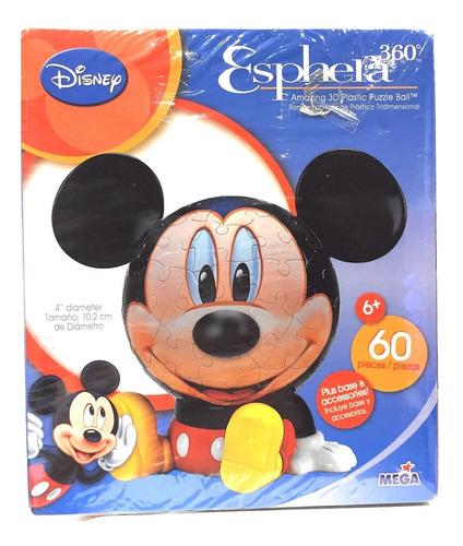 Disney Mickey Mouse Rompecabezas 3d Nuevo Mega