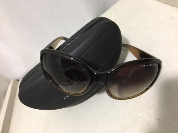 Óculos Escuro Armani Exchange - Estado Impecável - Na Caixa