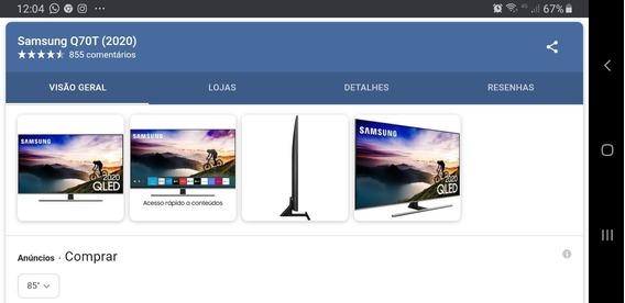 Tv Samsung 85 Na Caixa Lacrada