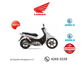 Biz 125 Honda Nueva Okm Hondalomas Oficial, Solo Por Hoy.