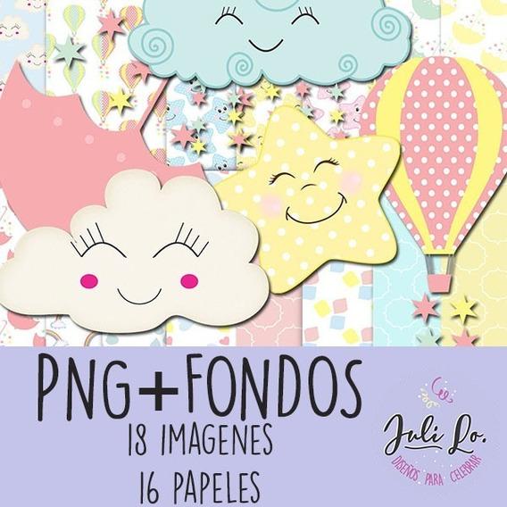 Kit Imprimible Imagenes Fondos Lluvia De Amor Jpg+png