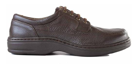 Zapato Cuero Hombre Briganti Acordonado Vestir - Hcac00966