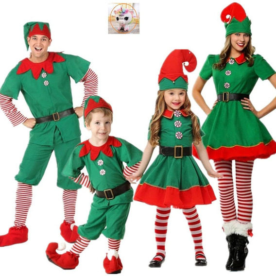 Disfraz De Duende, Elfo, Navidad Pastorelas, Festival