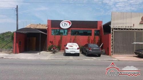 Galpão Comercial P/ Locação No Santa Cruz Dos Lazaros Jacare - 7698