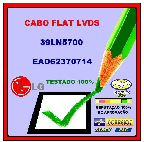 Cabo Flat Lvds Lg 39ln5700 Ead62370714