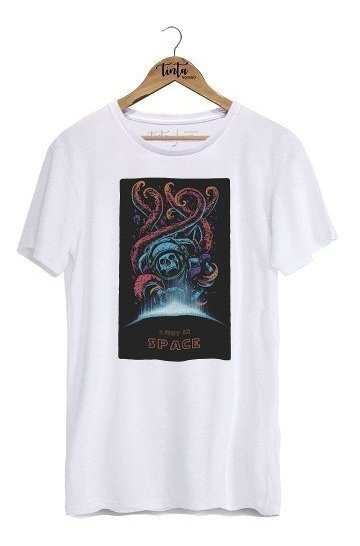 Camiseta Lost In Space (branco, P)