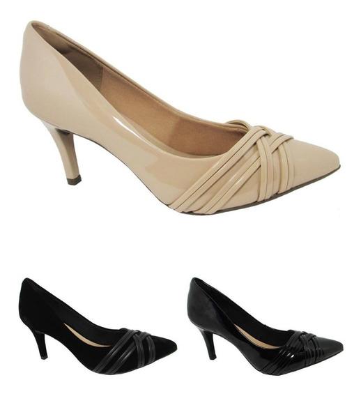 Sapato Feminino Via Uno Do 34 Ao 39 Ref:404003