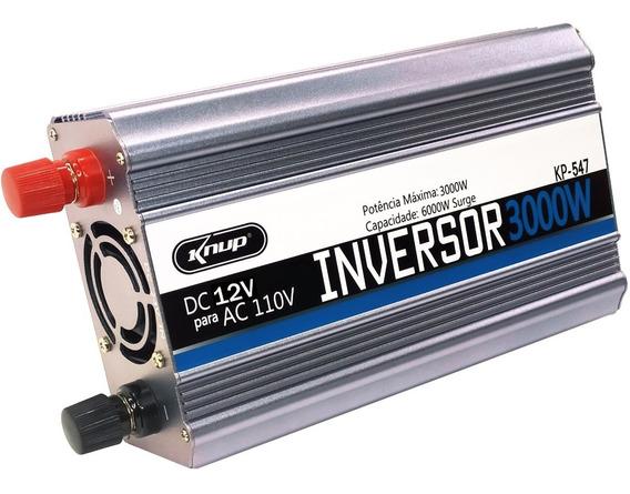 Inversor 3000w 12v 110v Transformador Tensao - 3.000 Watts