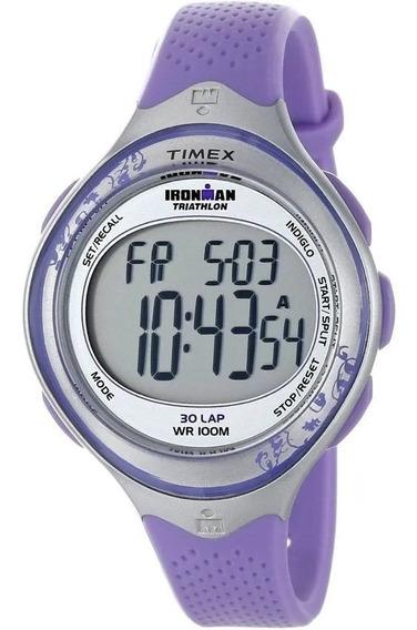 Relógio Feminino Timex Ironman T5k603wkl/tn (30 Voltas)