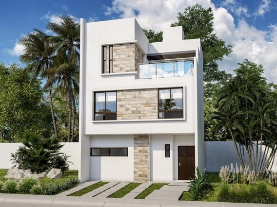 Exclusiva Y Confortable Casa En Venta En Playa Del Carmen