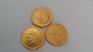 1 Moneda De Oro Puro 2.5 Pesos Fam Centenario Onza