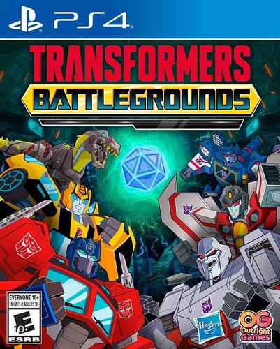 Ps4 Transformers Battlegrounds / Fisico