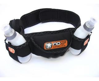 Cinturon Noaf Running Hidratacion 2 Botellas Trekking Bici