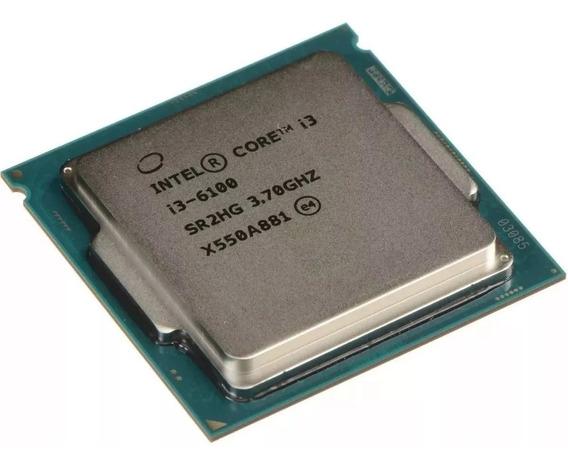 Processador Intel I3 6100 3.7ghz Lga 1156 -oem