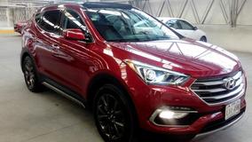 Santa Fe 4 Cil. 2.0 Turbo 2017 Roja $ 489,000.00
