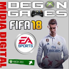 Fifa 2018 Xbox 360 Original Não É Cd Licença Liberada