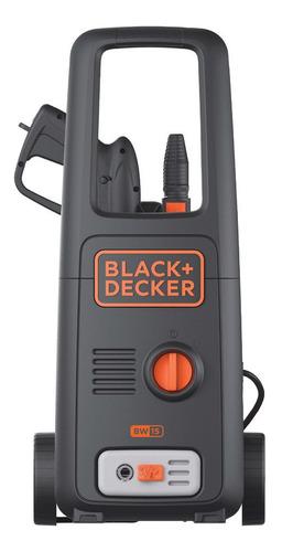 Hidrolavadora Black+Decker BW15 de 1500W con 120bar de presión máxima 220V