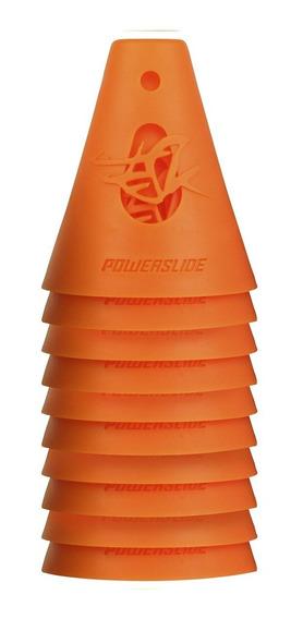 Set 10 Conos Powerslide Para Slalom Patín Roller Free Style