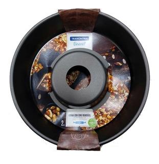 Molde Rosca Torta Teflón Tramontina 26cm Cono Removible 2pc
