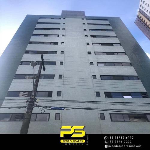 Apartamento Com 3 Dormitórios À Venda, 138 M² Por R$ 400.000 - Miramar - João Pessoa/pb - Ap3290